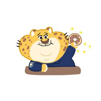 《瘋狂動物城》手繪萌系卡通微信頭像