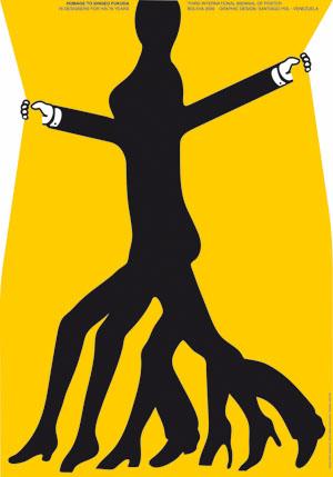 纪念福田繁雄—第三届玻利维亚国际海报双年展图片