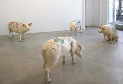猪八戒纹身满背的含义分享展示