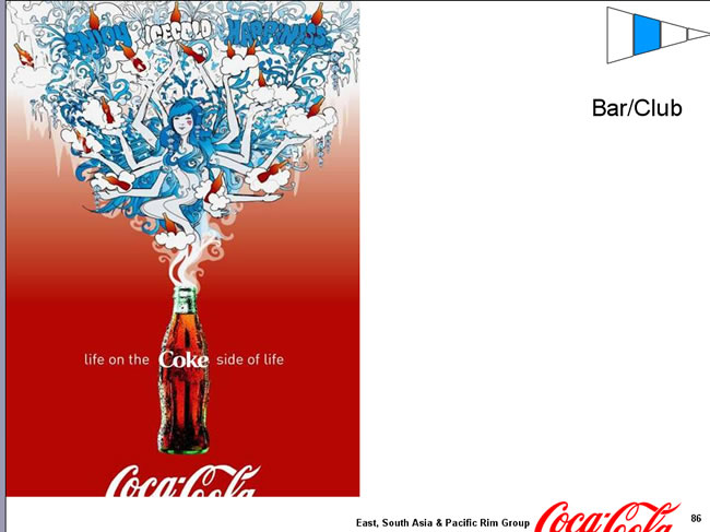 可口可乐的海报总动员_专题_佛山设计 佛山设计师