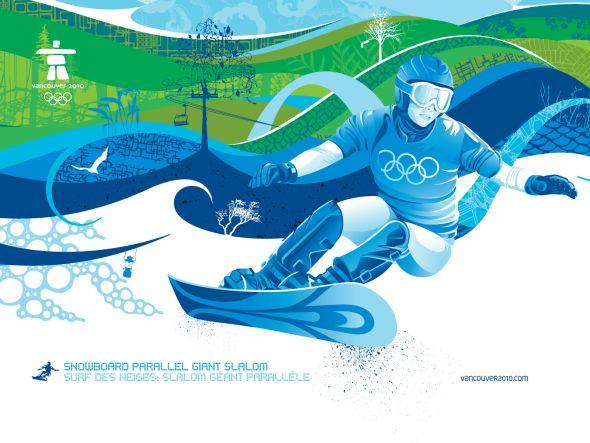 2010年温哥华冬季奥运会广告宣传设计
