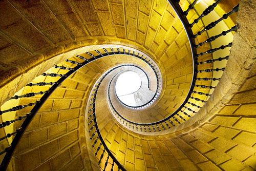 点线面楼梯手绘图