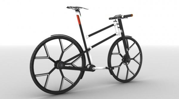 现代概念自行车设计