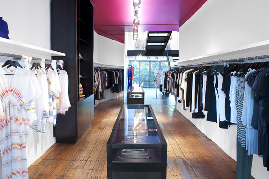 robby ingham服装店室内装修设计