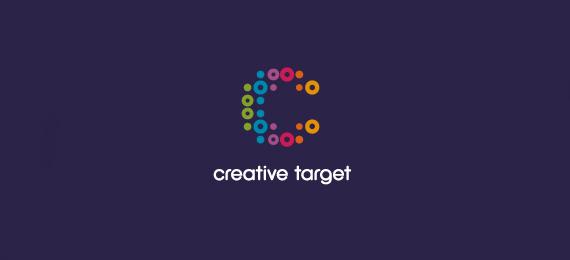 字母c的创意logo设计