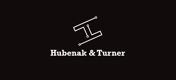 字母h的创意logo设计