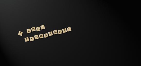 最新漂亮字体排版设计欣赏图片