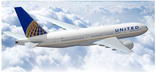 美国联合航空公司启用新标志