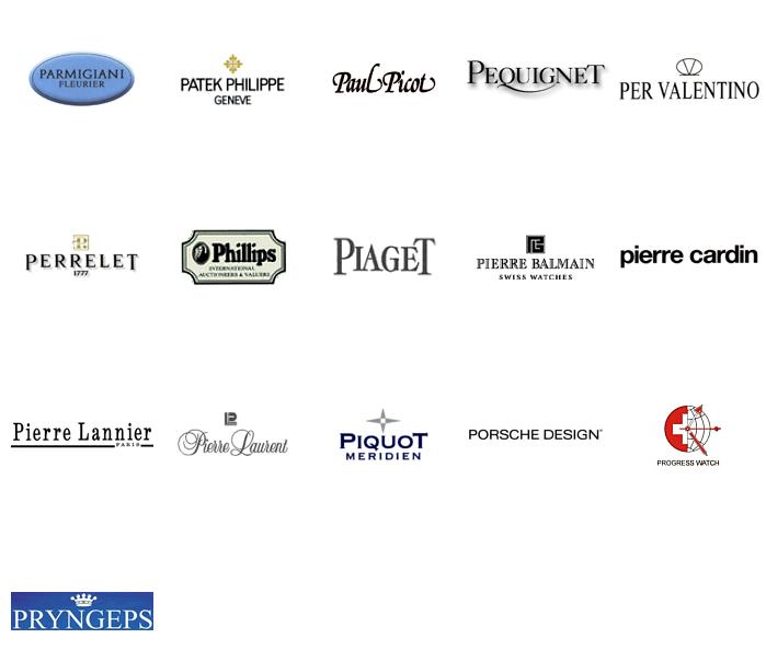 世界名表标志大全手表logo欣赏平面图片高清图片