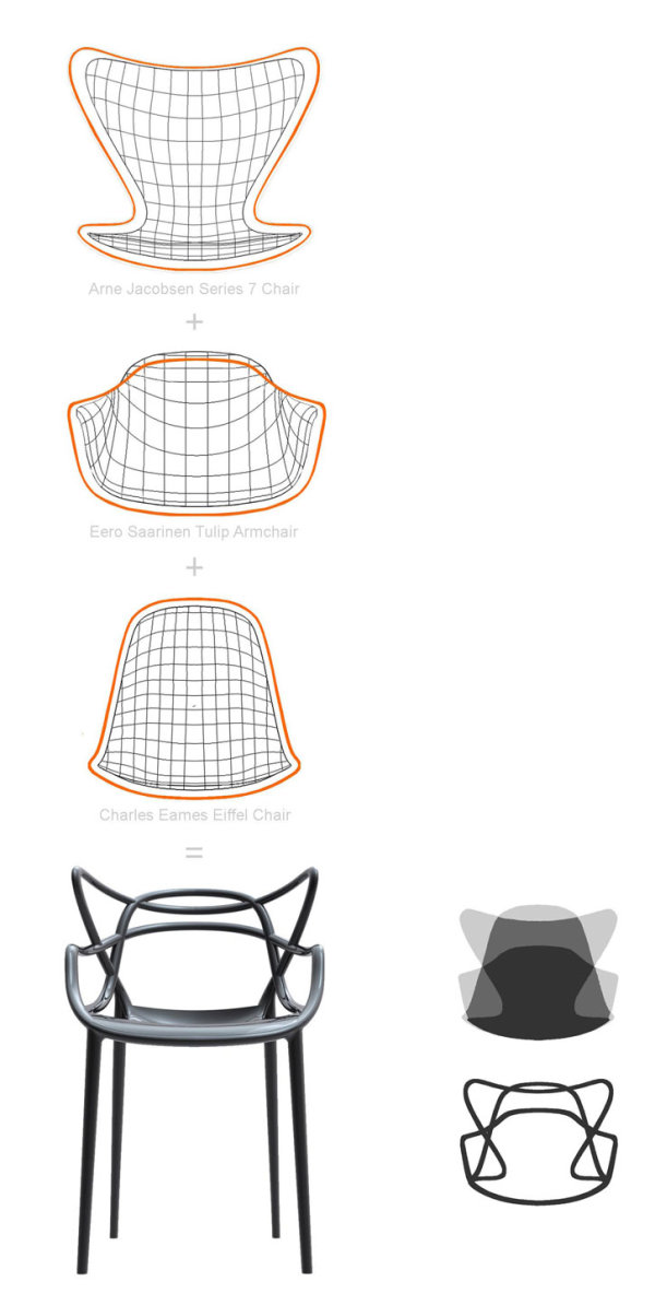 欧式椅子设计手绘图