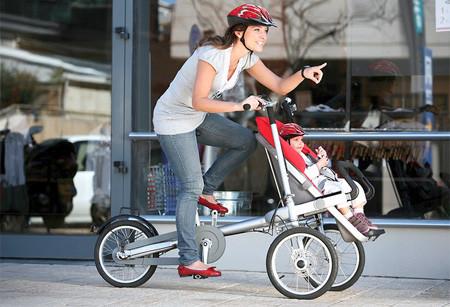【工业设计】taga自行车转换成婴儿车 - 廉清波 - 廉清波