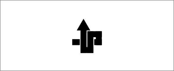 國外創意字母組合標志設計.