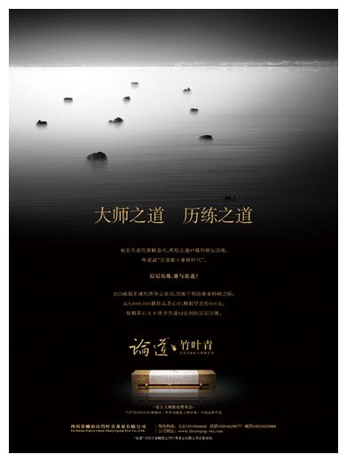 010年新作 竹叶青茶叶品牌形象