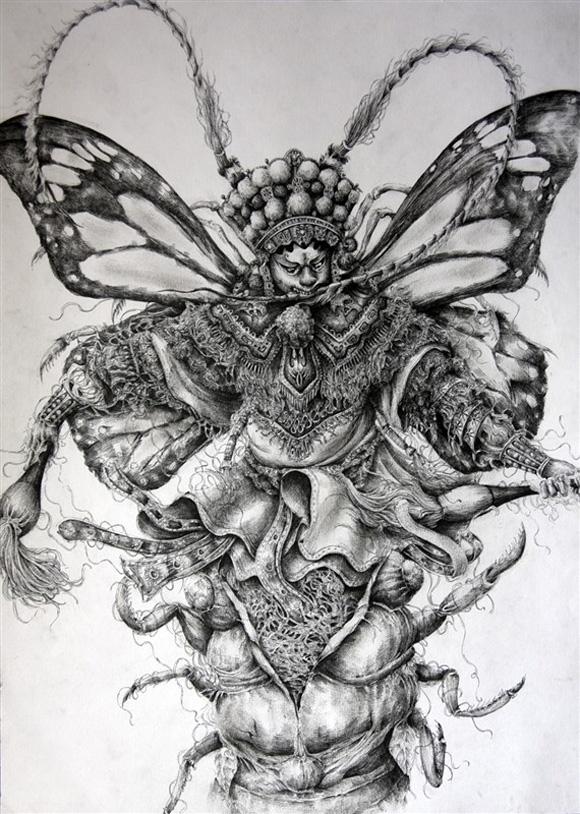 铅笔手绘宫崎骏