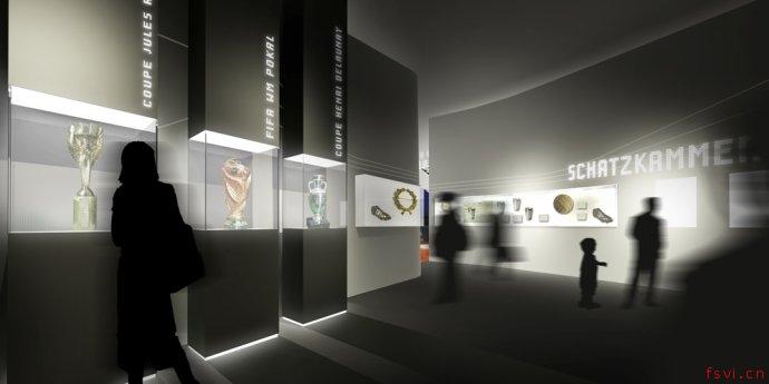 德国足协足球博物馆展览设计方案