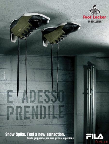 20个关于鞋子的创意广告设计