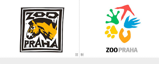 捷克布拉格动物园启用新标志