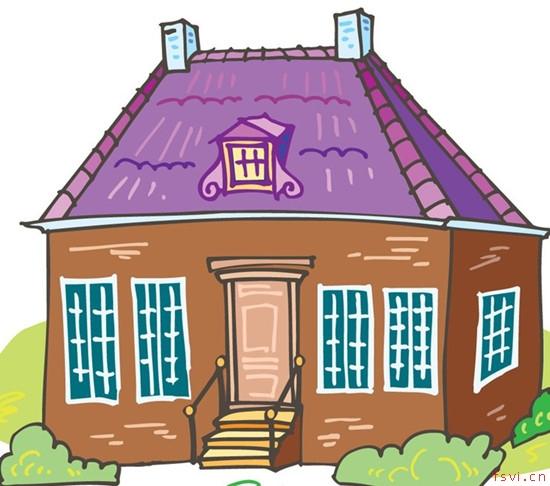 房子紫色logo