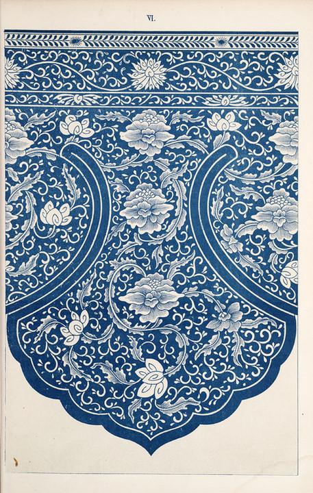 古典中国风青花纹样