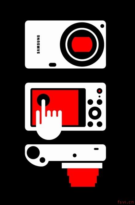 可口可乐零度插图设计